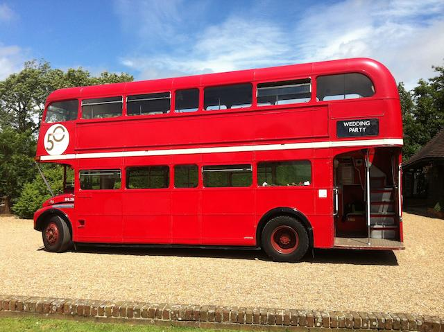 1966 AEC Routemaster RML Double-decker Bus, Chassis no. 2569 Engine no. S.4.3-3936151CO