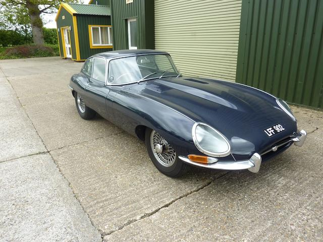 1962 Jaguar E-Type 'Series 1' 3.8-Litre Coupé, Chassis no. 860874 Engine no. R7483-9