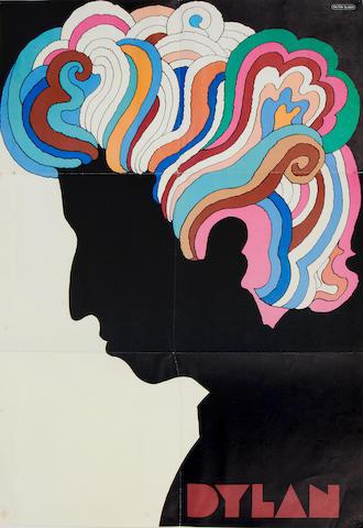 Bob Dylan: A Milton Glaser poster, 1960s,