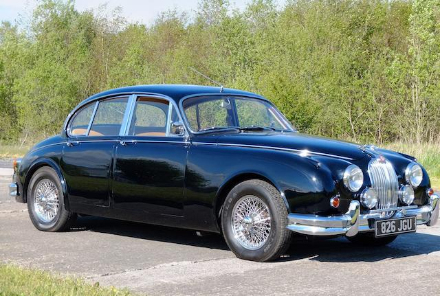 1963 Jaguar Mk2 3.8-Litre Sports Saloon, Chassis no. 231434DN Engine no. LC7626-9
