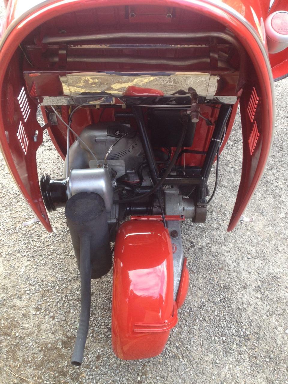 1962 Messerschmitt KR200 Micro-Car  Chassis no. 78846 Engine no. 3471785