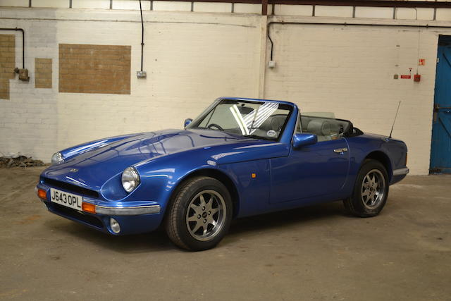1991 TVR V8S Roadster, Chassis no. to be advised Engine no. to be advised