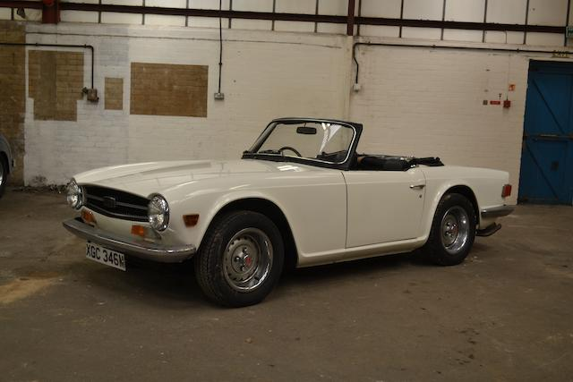 c.1973 Triumph TR6 Roadster, Chassis no. T01551CR Engine no. 218225