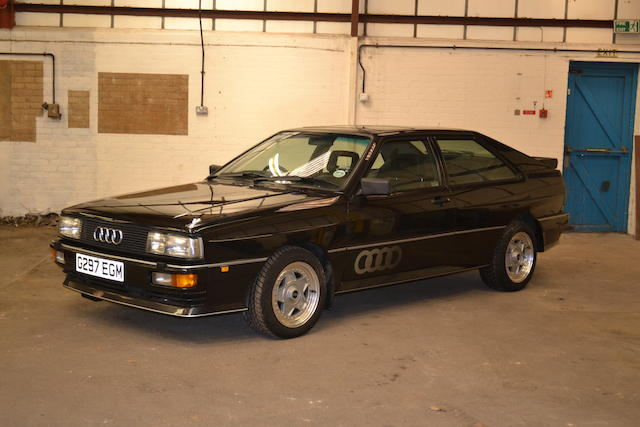 1989 Audi Quattro Coupé, Chassis no. to be advised Engine no. to be advised