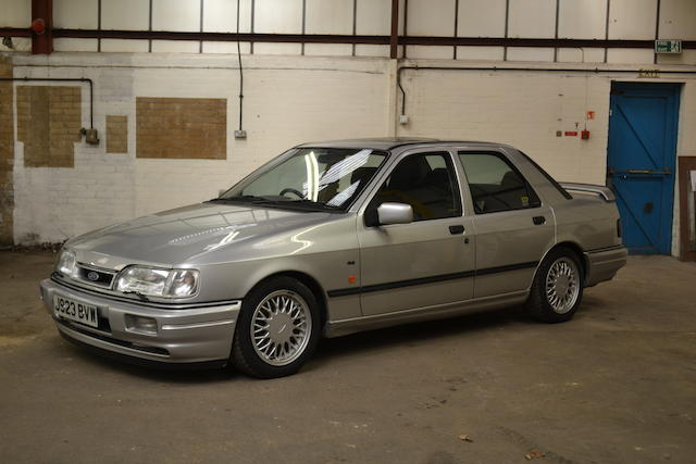 1992 Ford Sierra RS Cosworth Sports Saloon, Chassis no. BBFNK89016 Engine no. N5*WF0FXXGBBFNK89016