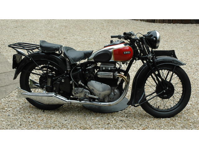 1939 Ariel 995cc Model 4G 'Square Four', Frame no. AX654 Engine no. DE653