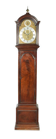 A rare third quarter of the 18th century mahogany longcase clock Thomas Mudge, London