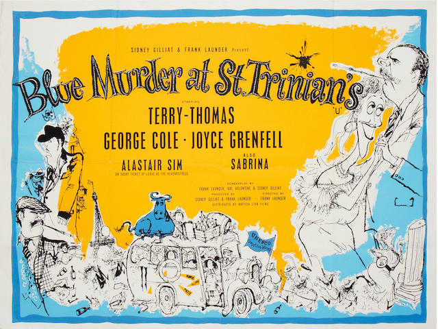 Blue Murder At St. Trinians,  British Lion, 1957,