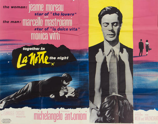 Michelangelo Antonioni: Two British quad posters, titles: 2