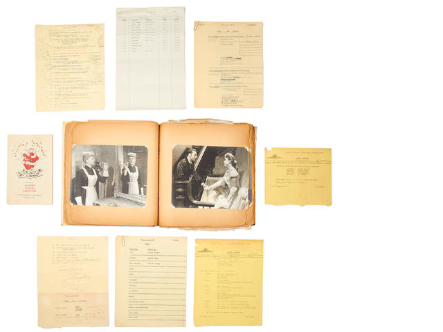 Gaslight, 1944: A good album of photographs and production documents,