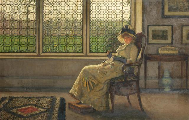 John Atkinson Grimshaw (British, 1836-1893) Mistress Dorothy