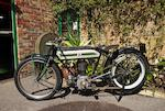 1920 Triumph 550cc Model D Frame no. 306993 Engine no. HT067101