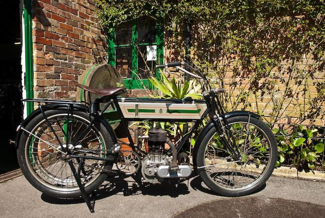 Ex-Eric Langton,1908 Triumph 3½hp Frame no. 137112 Engine no. 4237
