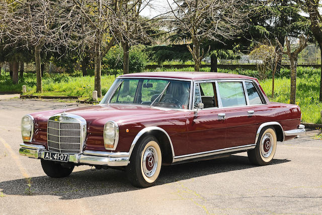 1966 Mercedes-Benz 600 Saloon, Chassis no. 100.012.000764