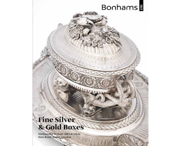 Fine Silver and Gold Boxes