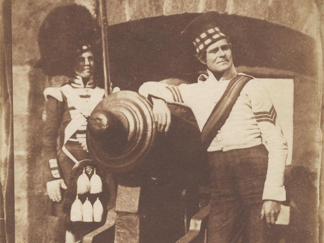 HILL (DAVID OCTAVIUS) and ROBERT ADAMSON Sergeant and Private of the 42nd Gordon Highlanders ('The Porthole'), [April 9, 1846]