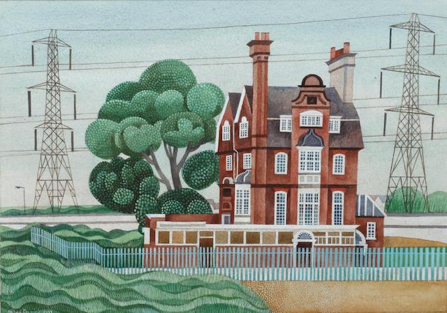 Alfred Daniels RWS, RBA (British, born 1924) Last House Standing