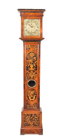 A late 17th century marquetry longcase clock John Barnett, Londini Fecit