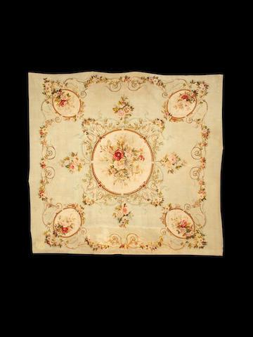 A mid 19th century Aubusson carpet, France, 289cm x 210cm