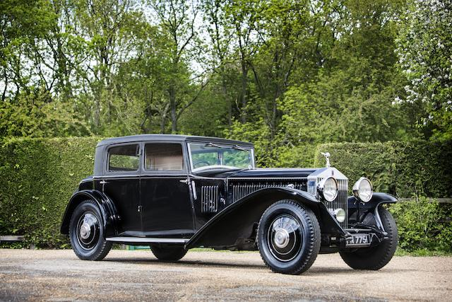 1931 Rolls-Royce Phantom II Continental Touring Saloon  Chassis no. 64GX Engine no. FF75