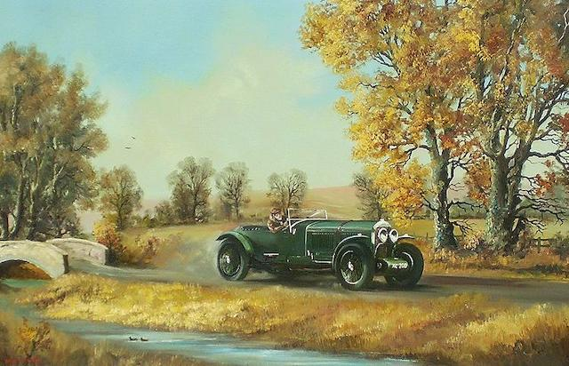 Dion Pears (1929-1985), 'Bentley 6½ Litre Tourer',