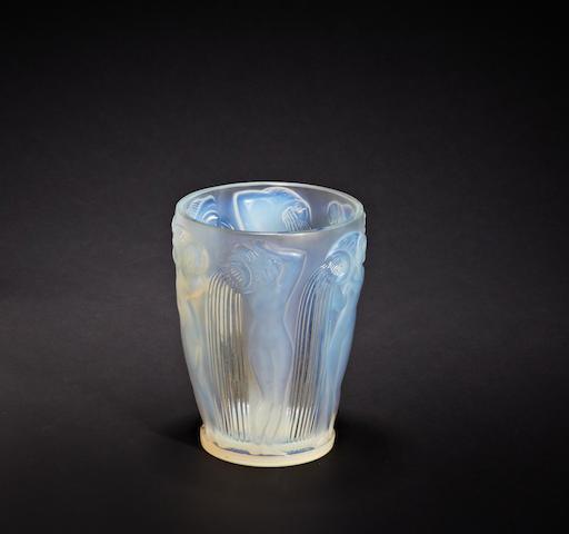 A René Lalique 'Danaïdes' vase Circa 1926