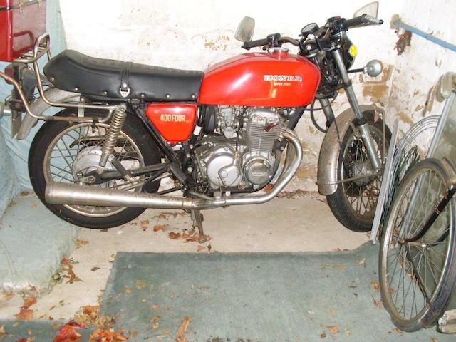 1975 Honda CB400F Frame no. CB400F 1045052 Engine no. CB400F E1042125