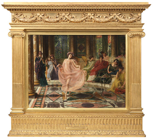 Sir E J Poynter, The Ionian Dance, oil on canvas