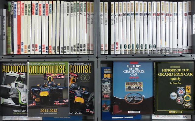 Autocourse annuals; 1961/62 to 2011/12,