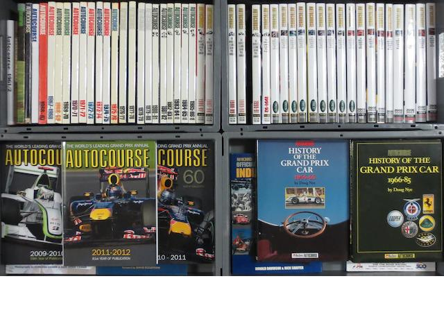 Autocourse annuals; 1961/62 to 2011/12,