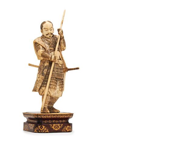 Japanese ivory okimono