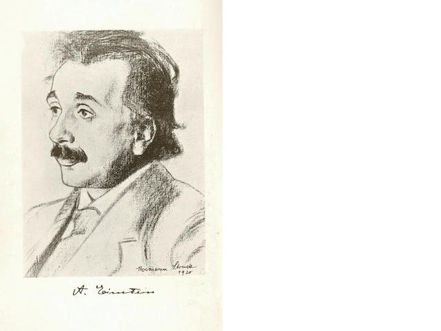 EINSTEIN (ALBERT) Relativity. The Special & The General Theory, [1920]
