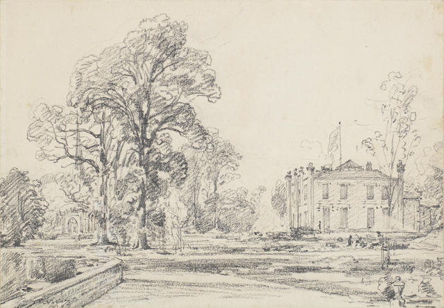 John Constable, R.A. (East Bergholt 1776-1837 London) Coleorton Hall