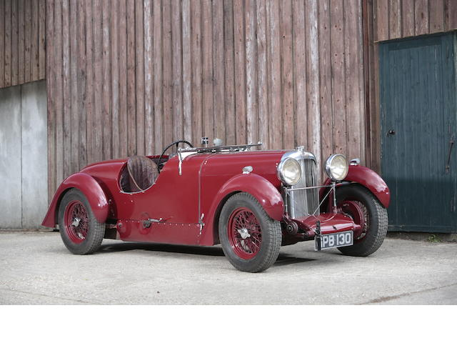 1936 Lagonda Rapier Granville Grenfell Supercharged Sports  Chassis no. R11488 Engine no. S/CR3236