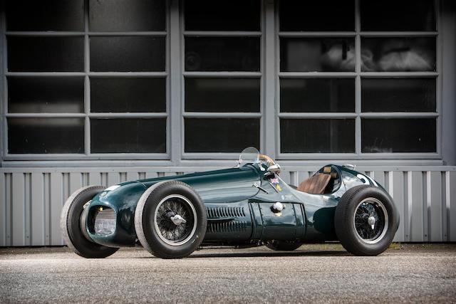 The Ex-works, Lance Macklin, Tony Gaze,1952-53 HWM Formula 2-Based Supercharged 'Tasman' Racing Single-Seater  Chassis no. 52/107 Engine no. GP3