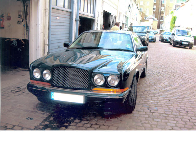 Circa 28,000 miles from new,1993 Bentley Continental R Coupé  Chassis no. SCBZB03D3PCH42620 Engine no. 77523L410I/TKN