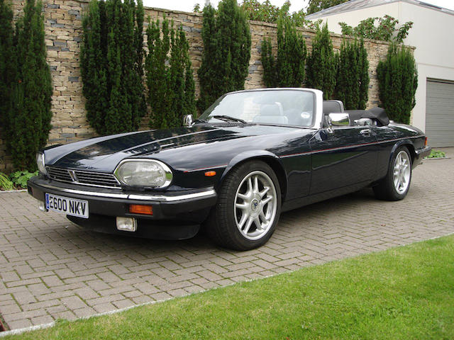 Formerly the property of Sarah, Duchess of York,1988 Jaguar XJ-S V12 Convertible   Chassis no. SAJJNADW3DA150787 Engine no. 85059258HA