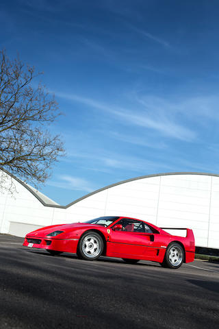 1992 Ferrari F40 Berlinetta  Chassis no. ZFFGJ34B000094674 Engine no. 32024