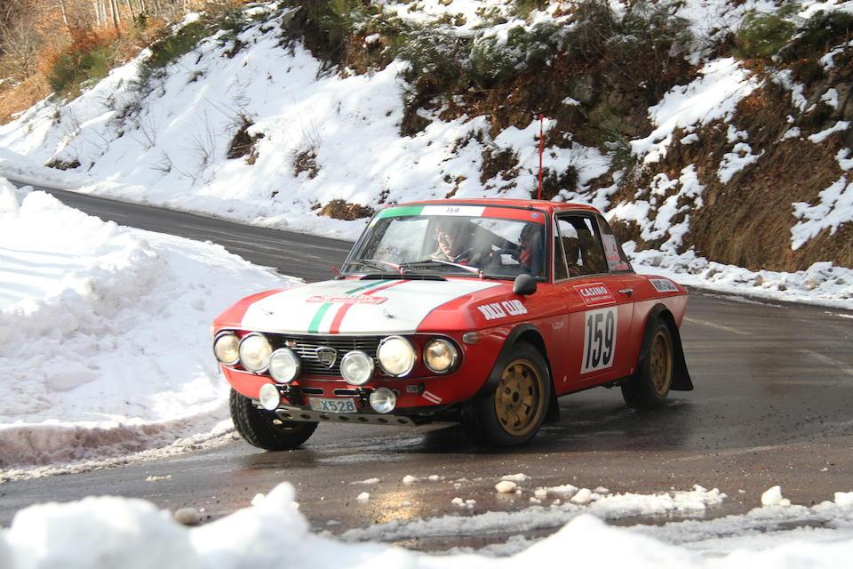 1970 Lancia Fulvia HF1600 Group 4 Rally Car  Chassis no. 818540001992