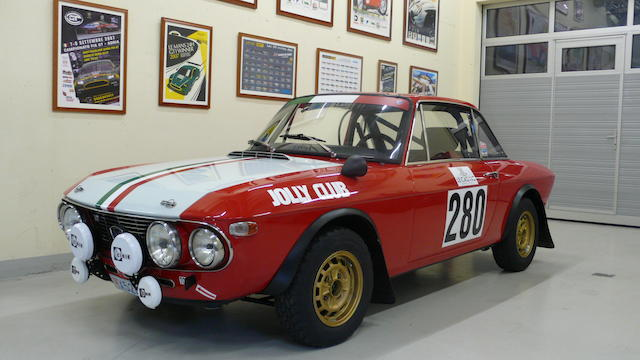 1970 Lancia Fulvia HF1600 Group 4 Rally Car  Chassis no. 818540001992