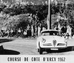 The ex-Denis de Graffenried, European Mountain Championship,1957 Alfa Romeo Giulietta Sprint Veloce Lightweight Coupé  Chassis no. AR 1493 03559 Engine no. 1315 30279