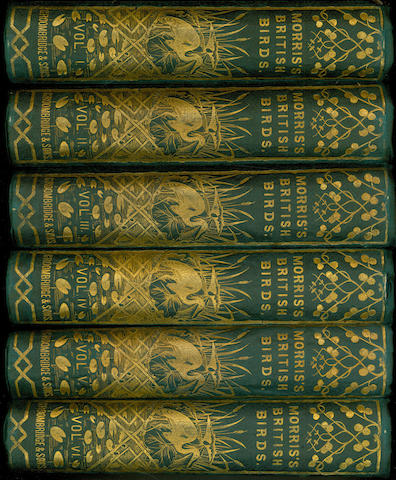 MORRIS (FRANCIS ORPEN) A History of British Birds, 6 vol., 1866