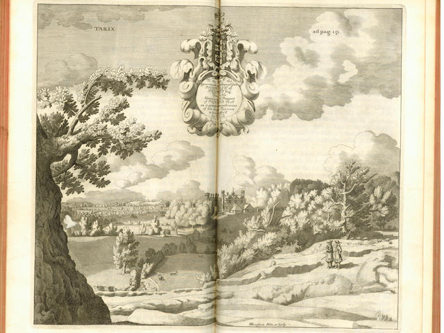 STAFFORDSHIRE PLOT (ROBERT) The Natural History of Stafford-shire, 1686