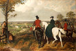 After John Frederick Herring, Snr. Fox Hunting: 'The Meet'; 'The Start'; 'The Run'; 'The Death'