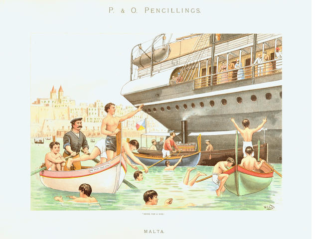 STEAM NAVIGATION COMPANY [LLOYD (WILLIAM WHITELOCK)] P & O Pencillings, [1891]