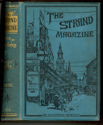 STRAND MAGAZINE The Strand Magazine. An Illustrated Monthly, vol. 1-20 only