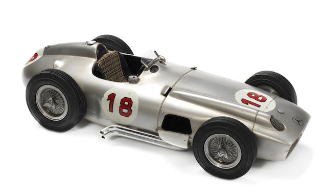 A Michele Conti scratchbuilt 1:12 scale model Mercedes-Benz W196, Italian, 1968,