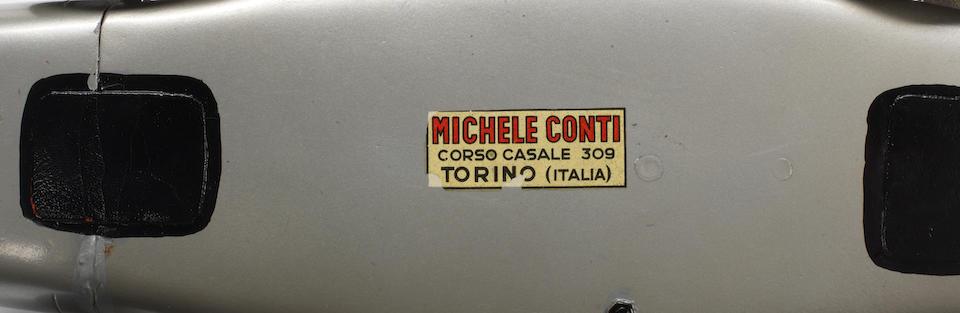 A Michele Conti scratchbuilt 1:12 scale model Mercedes-Benz W196, Italian, 1968,