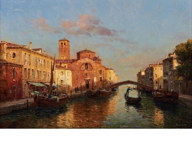 Antoine Bouvard (French, 1870-1956) Venise - La Chioggia