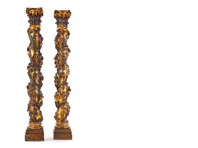 pair of columns - Spanish (?)